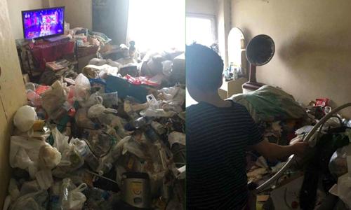 Cô gái bị tống cổ ngay lập tức vì để phòng trọ ngập rác