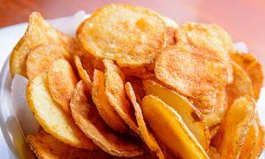 Làm snack khoai tây bằng lò vi sóng