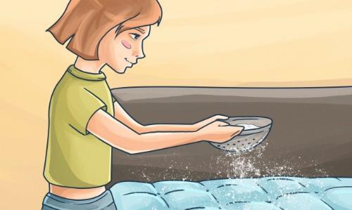 Hiệu quả bất ngờ khi rắc bột baking soda lên đệm, sofa