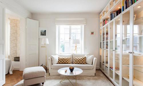 Căn chung cư 37 m2 sang trọng nhờ thiết kế đơn giản