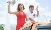 Cô gái chuyển giới Thanh Hóa xây xôn xao khi công khai lên xe hoa