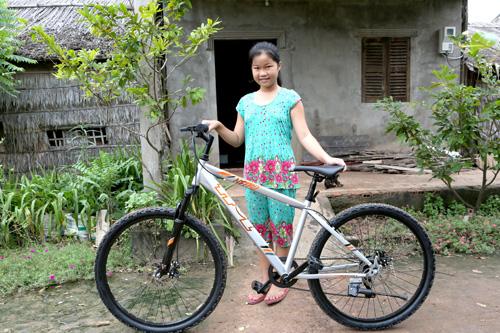 Em Võ Thị Thanh Thảo với ước mơ làm Công An