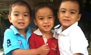 Bác sĩ khuyên bỏ bớt thai, vợ chồng nghèo quyết giữ lại bộ ba thiên thần