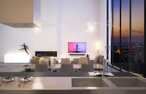 Không gian căn phòng ở đây nhấn mạnh sự đơn giản mà độc đáo, đem lại bất ngờ cho những vị khách đến thăm.