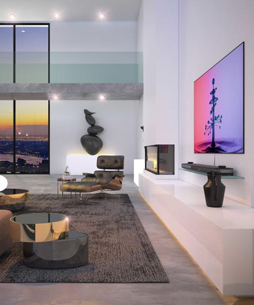 Toàn bộ phòng khách được thiết kế liên thông tối đa tạo không gian thoáng, thuận tiện cho đi lại cũng như đảm bảo công năng sử dụng.