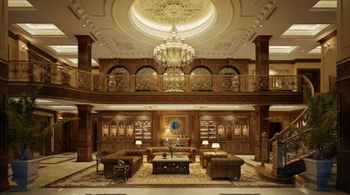 Phong cách cổ điển châu Âu trong thiết kế nội thất được lấy cảm hứng từ những lâu đài, cung điện của vua chúa trong xã hội phong kiến châu Âu. Đó là những thiết kế cầu kỳ, tỉ mỉ thể hiện gu thẩm mỹ cũng như gián tiếp khẳng định quyền lực và sự giàu có của chủ nhân.