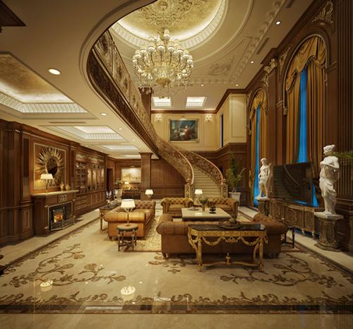 Đặc trưng rõ nét của phong cách cổ điển luôn là hệ thống phào chỉ. Theo đó, một công trình đẹp, đẳng cấp được thể hiện ở tỷ lệ phào chỉ trong không gian theo những chuẩn mực tinh tế.