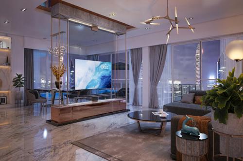 Ý tưởng cho phòng khách thượng lưu là sân chơi thú vị dành cho các nhà thiết kế nội thất thể hiện đam mê, sáng tạo