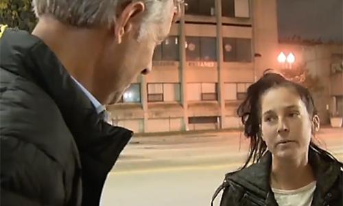 Meghan xuất hiện trong chương trình về tình hình nghiện ngập khiến bố cô rất bất ngờ.