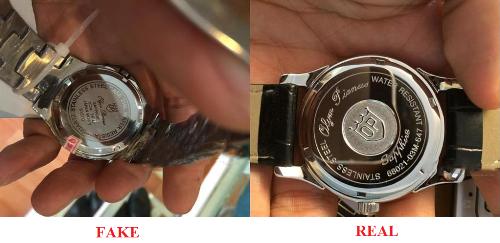 4 mẹo phân biệt đồng hồ thật hay hàng nhái - 5