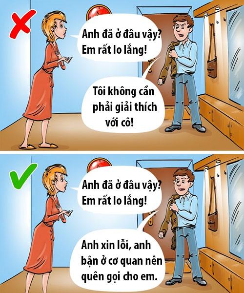 9 câu nói chứng tỏ chồng không còn yêu vợ nữa - 6