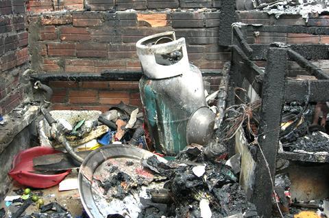Gas kém chất lượng là nguyên nhân gây cháy nổ nguy hiểm.