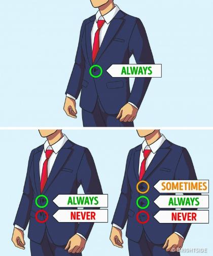 Những quy tắc mặc đồ lúc nào cũng sang trọng