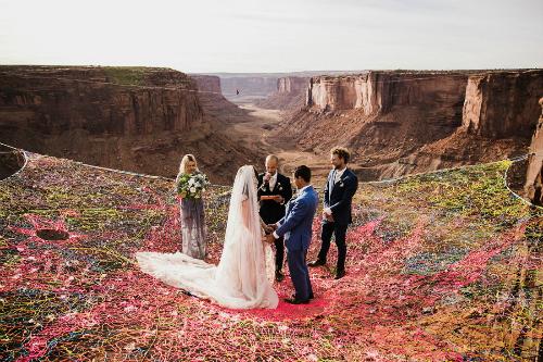 Đây cũng chính là nơi đôi vợ chồng ưa mạo hiểm đã gặp nhau 3 năm trước, khi họ leo núi.