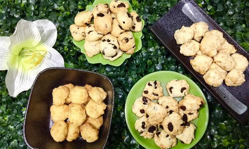 Tự làm bánh quy phô mai thơm lừng nhâm nhi đầu xuân - 1