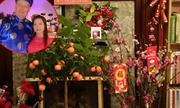 Cô dâu Việt đón Tết ở xứ người với bánh chưng lá chuối, đào quất tự chế