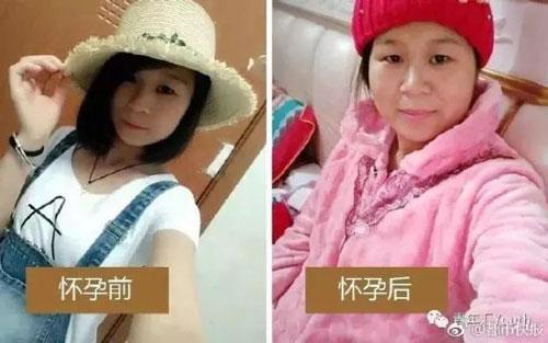 Chị Zhang tâm sự: Nhìn tôi bây giờ trông như mẹ mình.