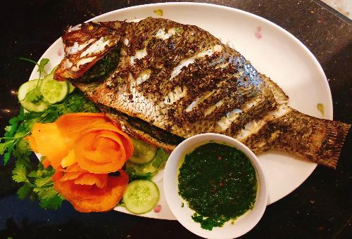 Cá nướng mắc khén thơm ngon kiểu Tây Bắc