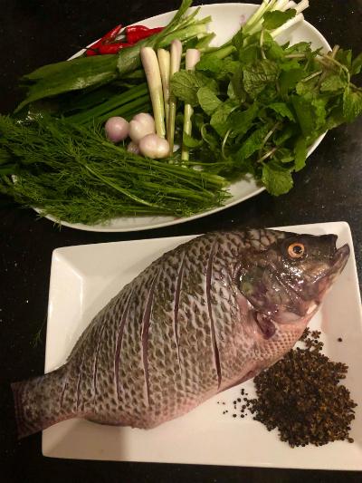Cá nướng mắc khén thơm ngon kiểu Tây Bắc - 1