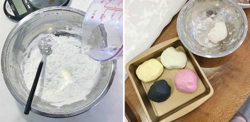 Bánh trôi chay ngũ sắc đón ngày Tết Hàn thực - 2