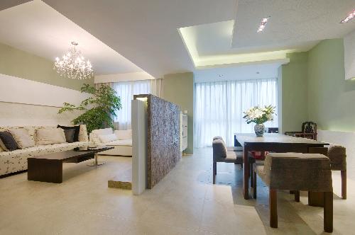 Một căn hộ sử dụng tường thạch cao. Ảnh: Sant Gobain VN.