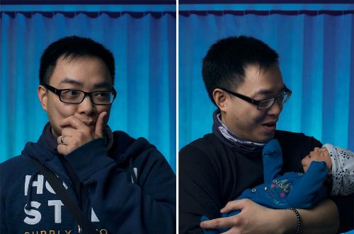 Khoảnh khắc của đàn ông trước và sau khi làm bố
