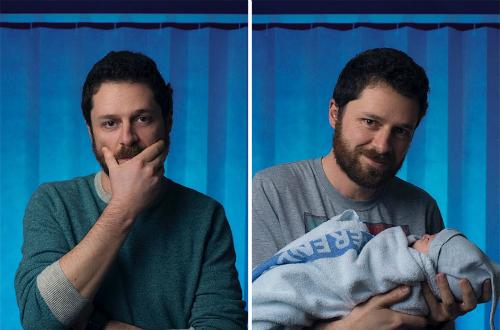 Khoảnh khắc của đàn ông trước và sau khi làm bố - 4