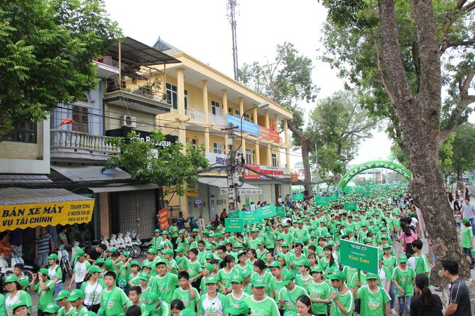 20.000 học sinh tham dự Ngày hội đi bộ 2018