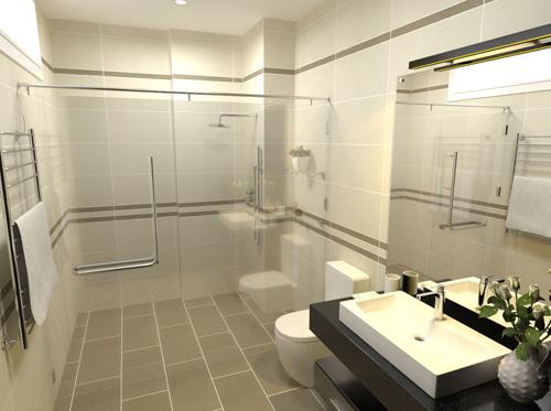 Chọn gạch lát phù hợp với từng phòng trong nhà - 1