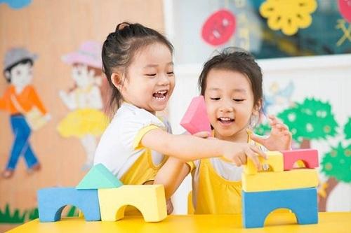 Chương trình có nhiều trò chơi dành cho các bé.