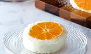 Bánh kếp trắng nhân cam mát lạnh ngày hè