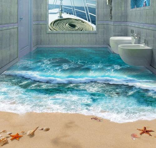 Tuy nhiên, thiết kế độc đáo này cũng khiến nhiều người, nhất là khách tới chơi nhà, giật mình khi sử dụng khu vệ sinh.