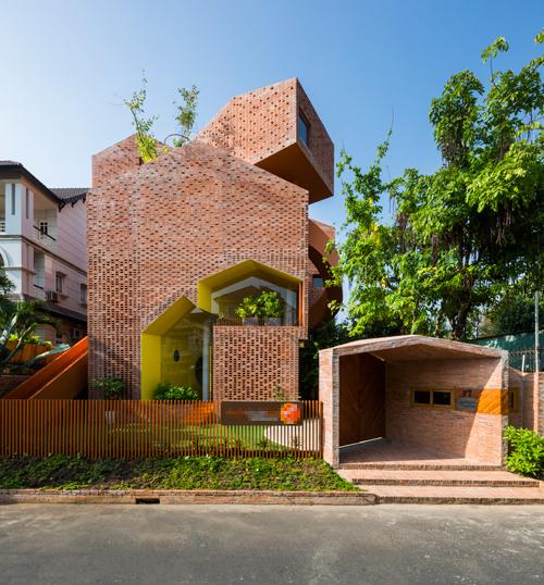 Trường mầm non có thiết kế độc nhất vô nhị ở Sài Gòn