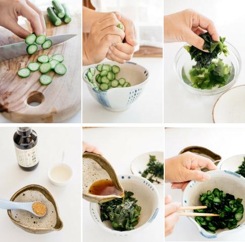 Salad dưa chuột và rong biển lạ miệng  - 1
