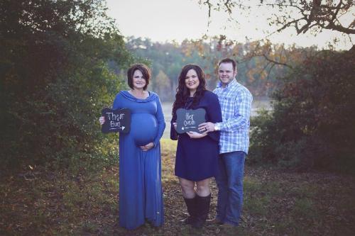Bà Patty và vợ chồng con trai.