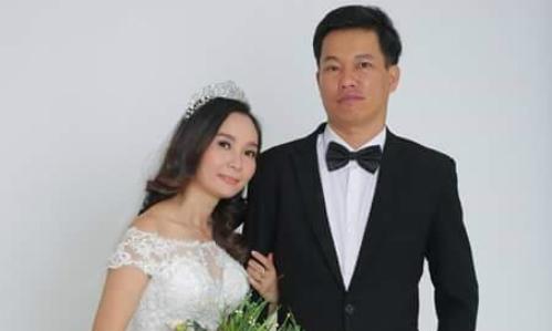 Thùy Dương đúng mẫu phụ nữ gia đình, nấu ăn ngon, biết thêu thùa, chăm sóc trẻ. Lấy chồng hơn 11 tuổi, cô rất được anh chiều chuộng. Ảnh:NVCC.