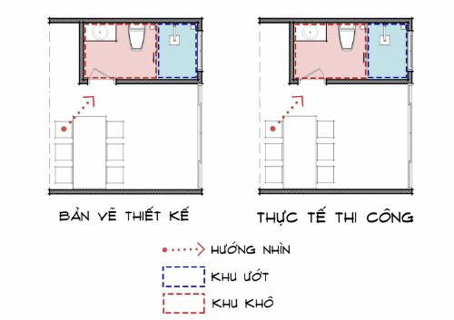 Tự ý đổi thiết kế toilet, gia chủ gặp rắc rối khi sử dụng - 1