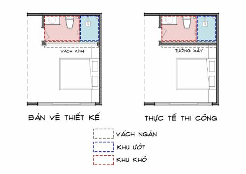 Tự ý đổi thiết kế toilet, gia chủ gặp rắc rối khi sử dụng - 3