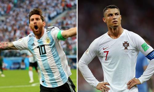 Cả hai ngôi saođã rời đấu trường World Cup.