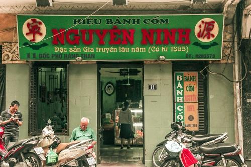 Đặc sản gia truyền 150 năm bánh cốm Nguyên Ninh