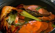 Hấp gà, hải sản ngọt thịt không cần nước bằng nồi dưỡng sinh