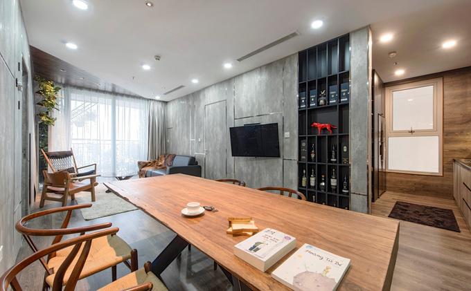 Những cánh cửa bí ẩn trong căn hộ Hà Nội được sửa lại