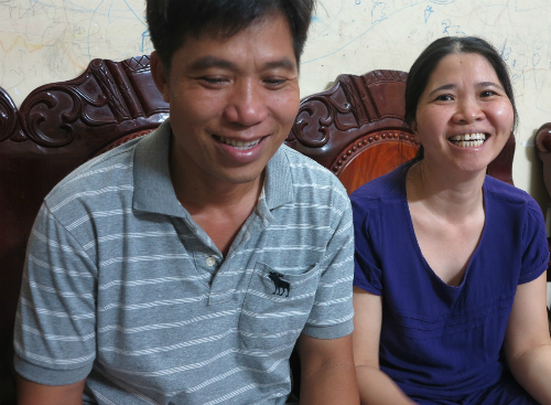 Chị Thanh cho biết, trong hai người chết trong vụ tai nạn, có một người có hoàn cảnh khó khăn, dù rất thương, nhưng chị chẳng giúp được gì. Ảnh: Phan Thân