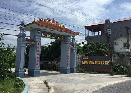 Chị Hương hiện vẫn ở cùngbố mẹ chồng và hai con gáiở làng La Khê (Ninh Thành). Ảnh: P.D.