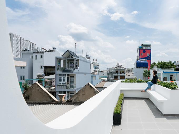 Hệ lam giúp nhà ống Sài Gòn không sợ trộm, thừa nắng gió