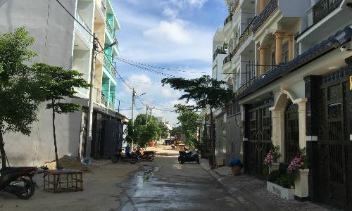 Nhiều khu vực, các ngôi nhà được yêu cầu phải xây theo những quy định nhất địnhđể đảm bảo sự thống nhất và hài hòa chung - Ảnh: HA