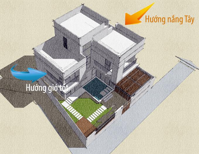 Tư vấn xây biệt thự 2 tỷ đồng ở thành phố tỉnh lẻ