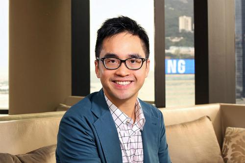 Mr Adrian Cheng, triệu phú 34 tuổi ở Hong Kong. Ảnh: Straitstimes.