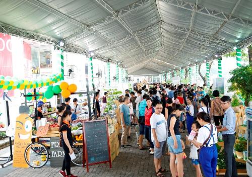 Ngày hội Xanh Phú Mỹ Hưng lần 3 với chủ đề Sống xanh - Sống khỏe sẽ diễn ra từ 8-20h ngày 25-26/8 tại khu The Crescent (Hồ Bán Nguyệt), Phú Mỹ Hưng, quận 7, TP HCM.