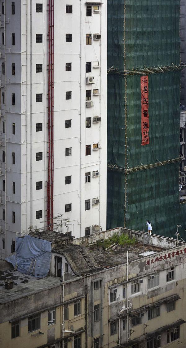 Người Hong Kong làm gì trên sân thượng